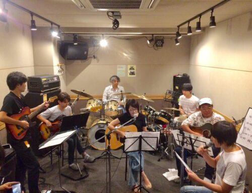 ギター、ドラム教室合同練習会@パプリカミュージックスタジオ平塚